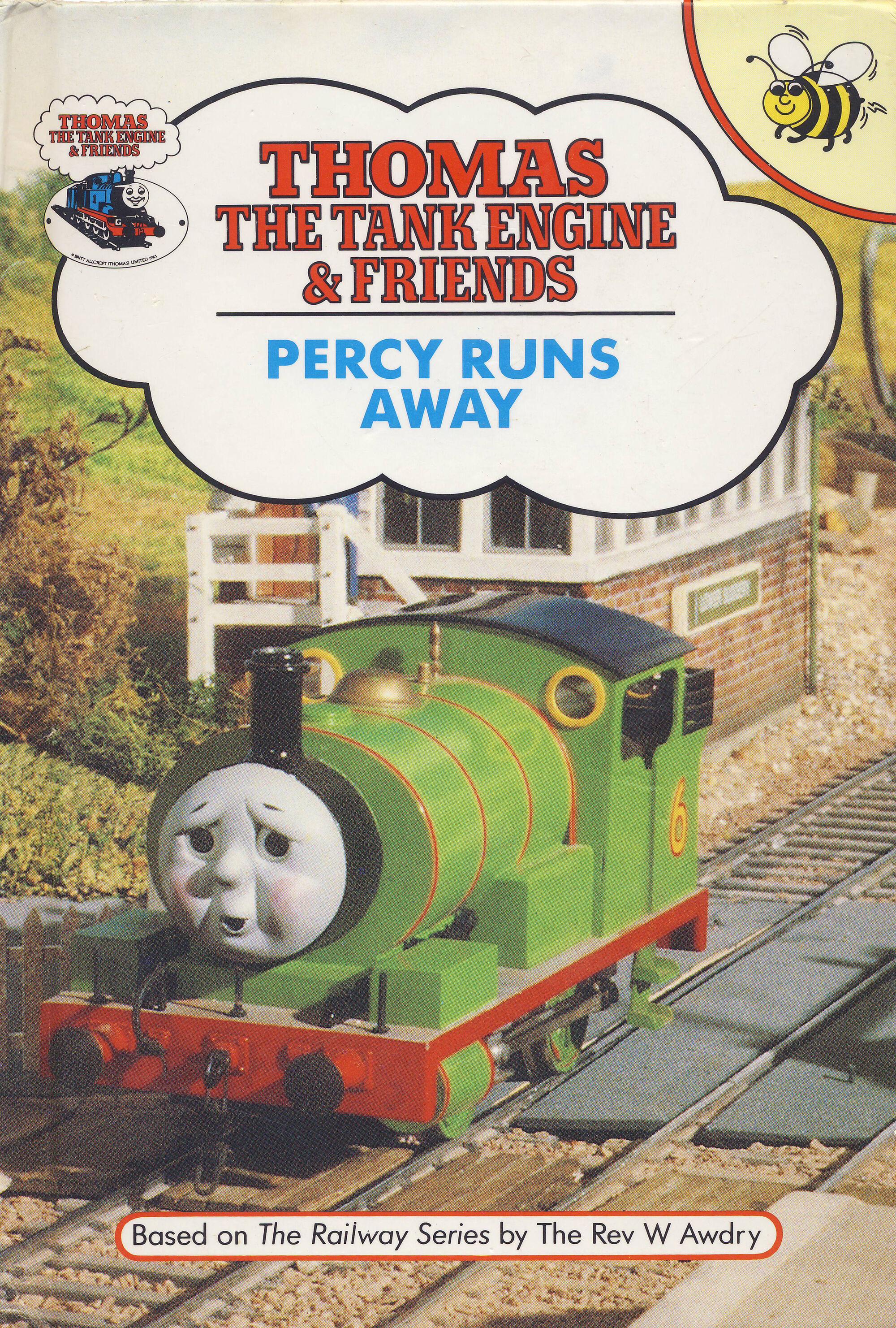 Percy Runs Away (Buzz Book) | Thomas the Tank Engine Wikia ...