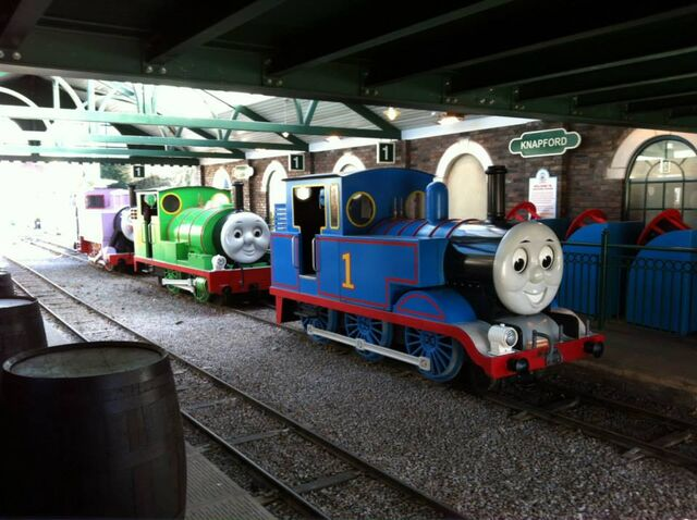 File:Thomas,Percy&RosieDraytonManor.jpg