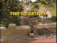 Toby'sTightrope1991titlecard