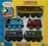 WoodenRailwayTheMagicRailroad5CarPack