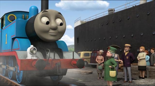 TV版第16シーズンの水色のカーディガンを着た女生