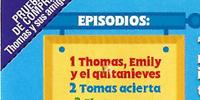 Thomas and Friends - Volume 4 (Spanish DVD)