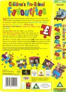 Children'sPre-schoolFavourites1995backcoverandspine