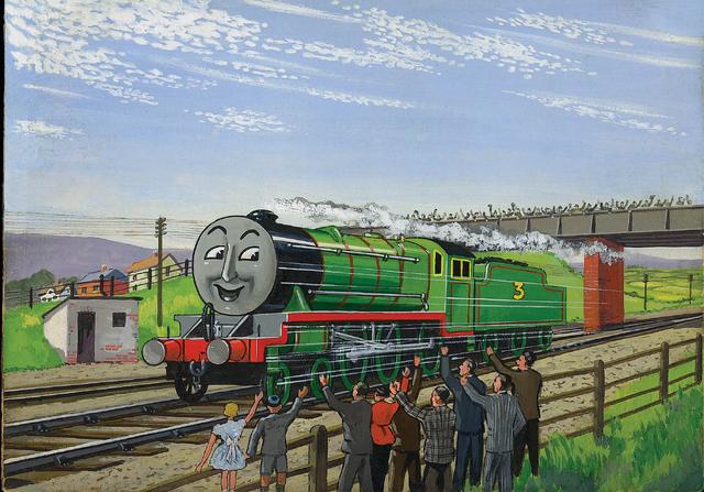 原作第6巻のヘンリー