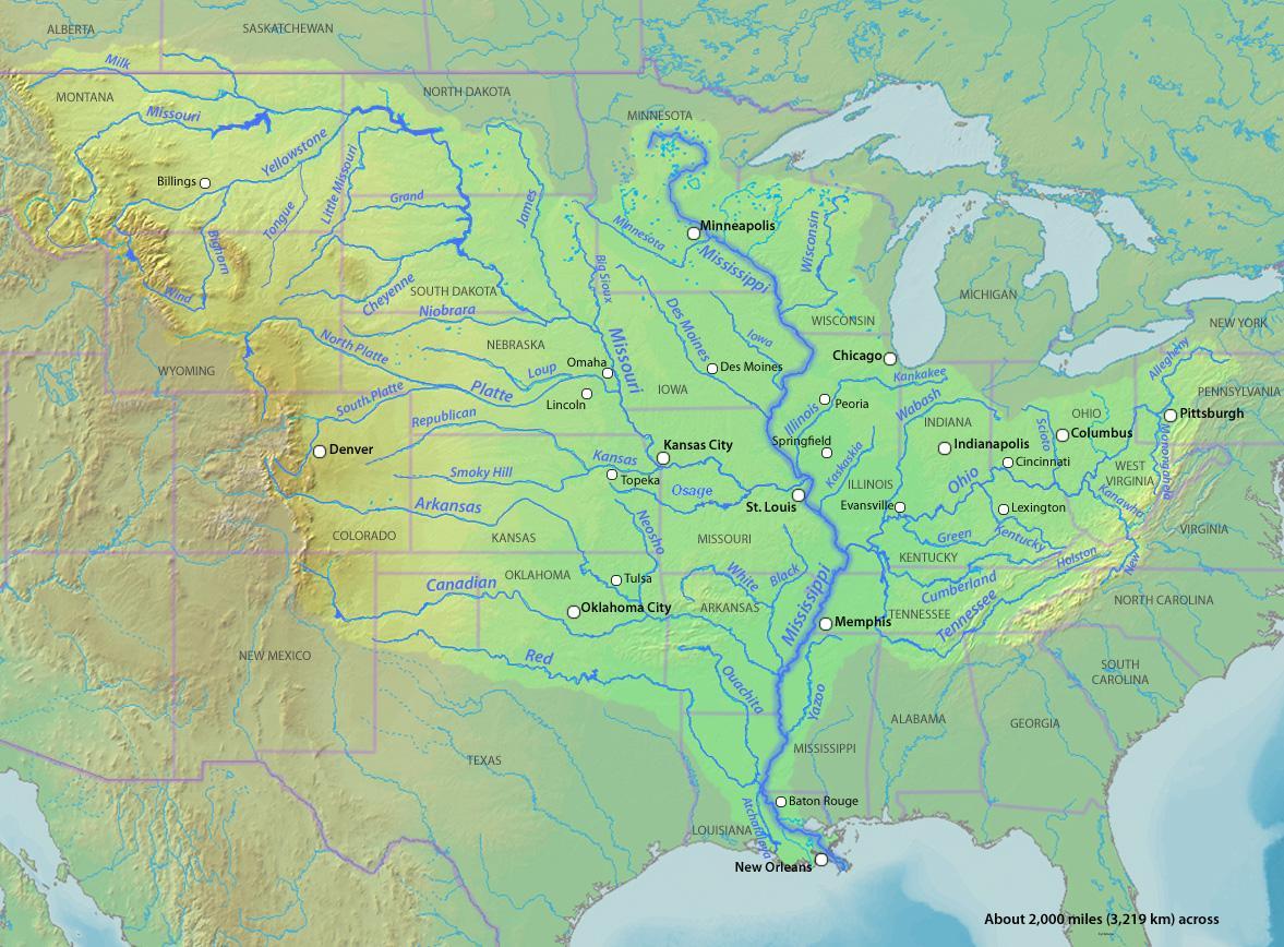 Mississippi River - Wikipedia