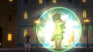 Shiki gets the light puck