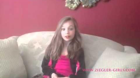 Q&A's with Maddie Ziegler