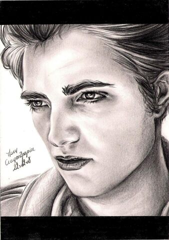 File:Robert Pattinson by crayon2papier.jpg