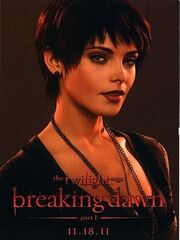 Breaking dawn trading card alice