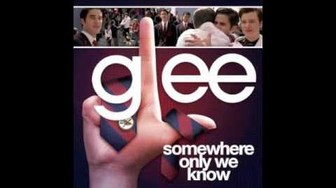 Glee (Dalton Academy Warblers) - Somewhere Only We Know
