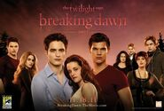 Breaking Dawn comic con poster