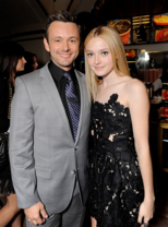 Michael Sheen and Dakota Fanning