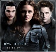 Jacob,Bella and Edward - Twilight