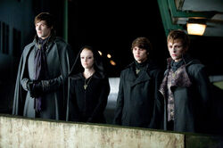 Alec, Jane, Felix And Demetri (Eclipse movie still)