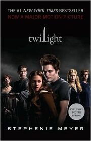 Twilight book cover (second)