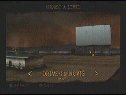 Level Drive in Movie