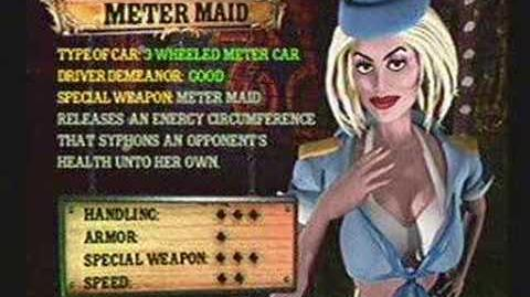 Twisted Metal 4 - Meter Maid's Info
