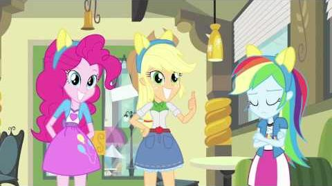 My Little Pony Equestria Girls Clip via Entertainment Weekly