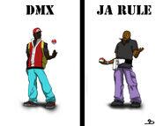 DMX VS JA RULE