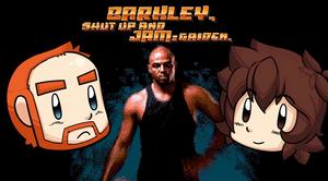 Barkley Shut up and Jam Gaiden Title
