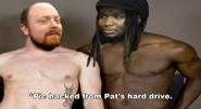 Pat and Woolie