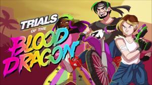 Blood Dragon Trials Title