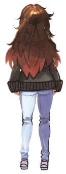 Jinako back