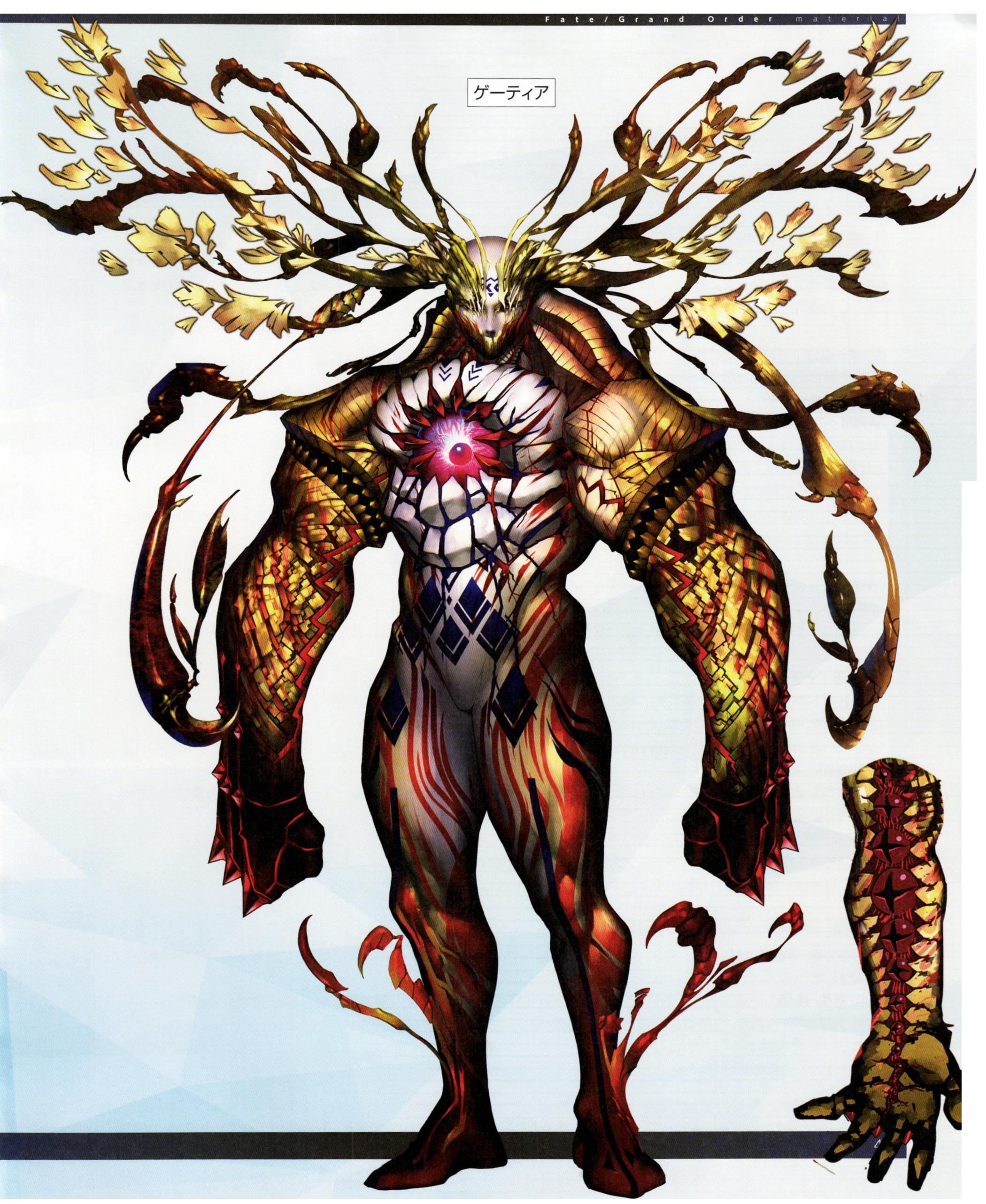 fate beast_Fate/Grand Order/서번트/엑스트라 클래스 - 우만위키