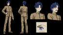Shinji studio deen character sheet