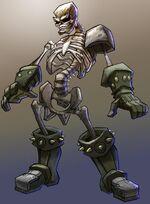 Skeletonsketch