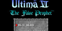 SNES-Port of Ultima VI