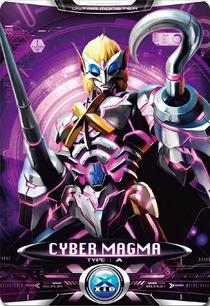 Ultraman X Cyber Magma Card
