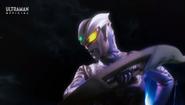 Zero ready to fight with his Zero Twin Sword