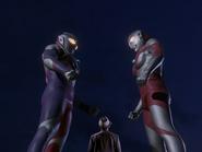 Tiga, Eiji & Ultraman