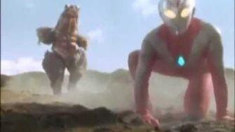 Ultraman Dyna Vs Mogedon