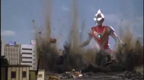 Geel Rampage! Ultraman Gaia vs Geel