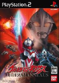 Ultraman Nexus PS2 Cover