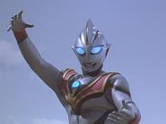 Evil Tiga's stance