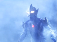 Hikari heavily injured and his armor was destroyed