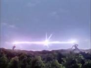 Imitation Agul and Ultraman Agul fired Phoron Crushers
