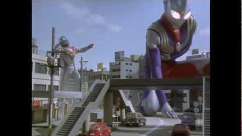 The Tiga that never was! Gardi and Ultraman Tiga vs Evil Tiga-0