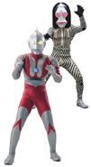 Ultraman with Dada