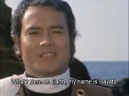Hayata in Ultraman Taro