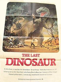 Poster of the movie The Last Dinosaur
