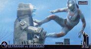 Ultraman Jack vs Bulligamo