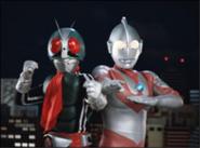 Ultraman & Kamen Rider