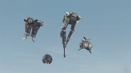 King Joe Black Seperation Flight Mode Ships