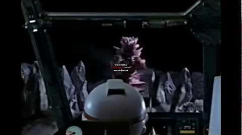 Ultraman Dyna vs Monsarger
