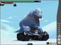 Ice Camo Dinosaur Tank