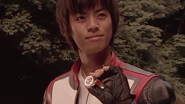 Tsubasa with his photograph